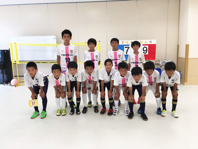 油津FCスポーツ少年団の皆さん
