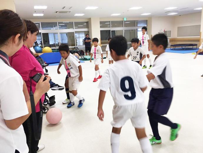 油津FCスポーツ少年団の皆さんVSテゲバジャーロ宮崎U-12
