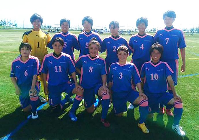 宮崎県女子サッカー選抜メンバー集合写真