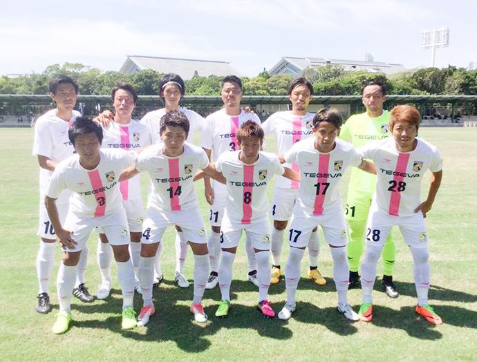 九州リーグ第19節ホームゲーム集合写真