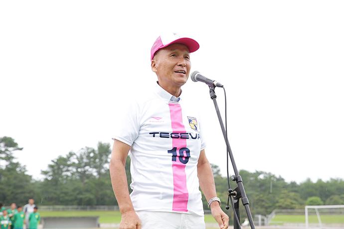 宮崎県サッカー協会会長橋田和実様よりご挨拶