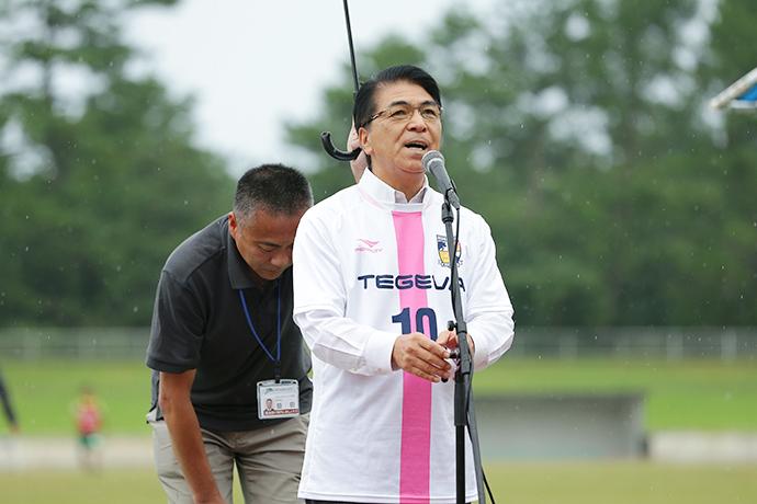 宮崎市長戸敷正様による力強いメッセージをいただきました。