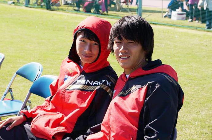 ボンヒョク選手と小林選手のツーショット