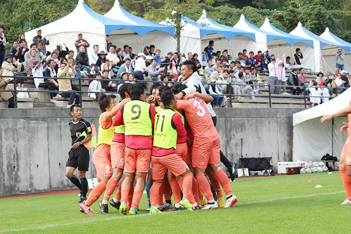 石川選手ゴールシーン