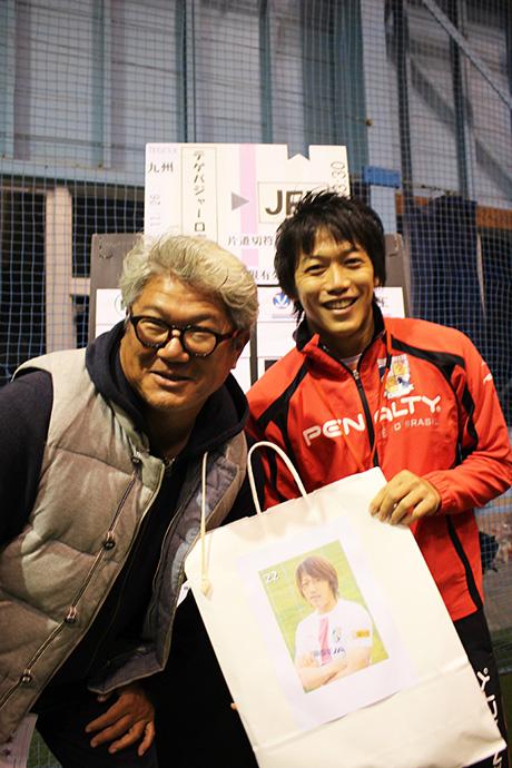 小林選手と男性