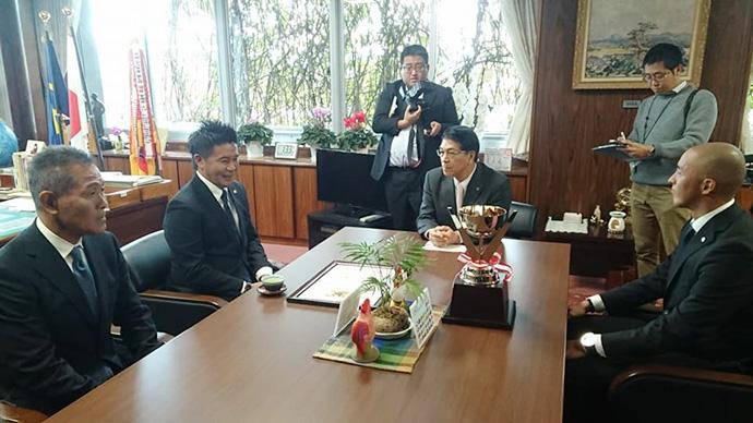 宮崎市長表敬訪問