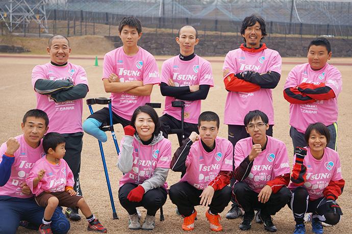 ピンク色チーム