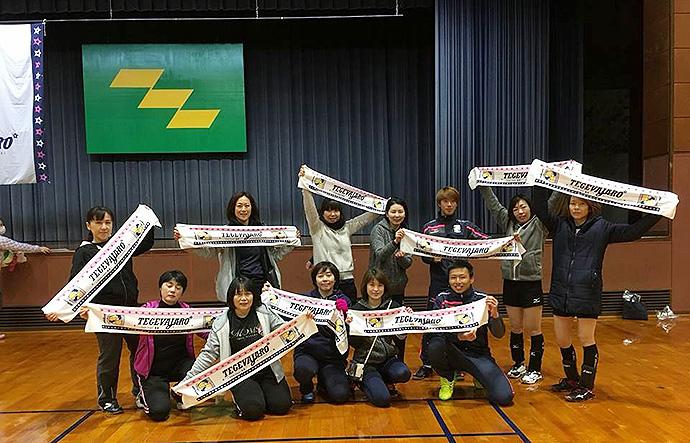 三島勇太選手・三嶋雄大選手と参加してくれたチームのみなさん