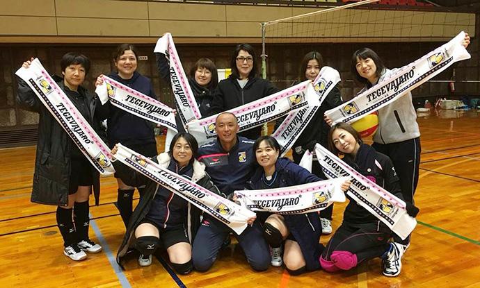 石井選手と参加してくれたチームのみなさん