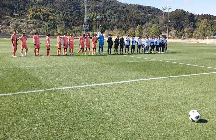 トレーニングマッチ:鹿児島ユナイテッドFC1
