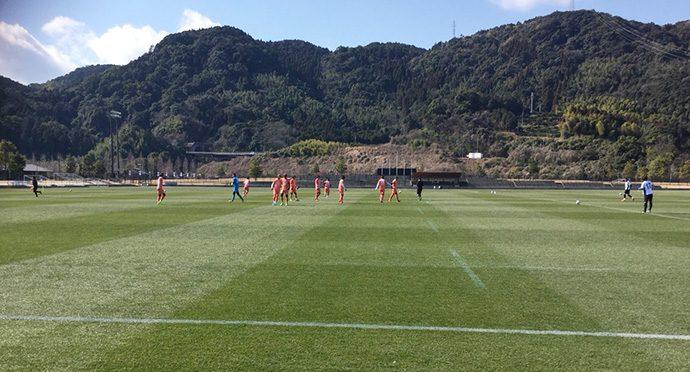 トレーニングマッチ:鹿児島ユナイテッドFC2