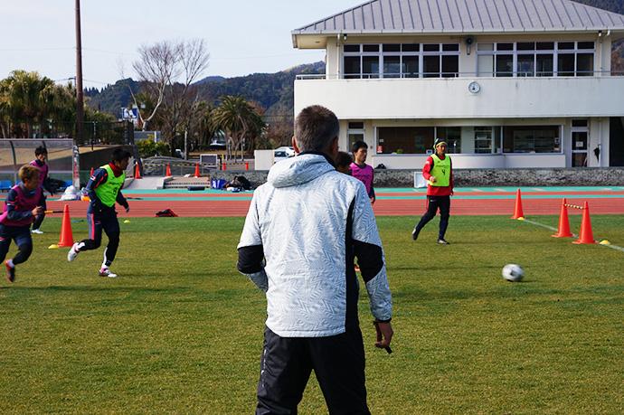 日南キャンプトレーニング1