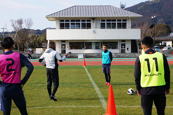 日南キャンプトレーニング2