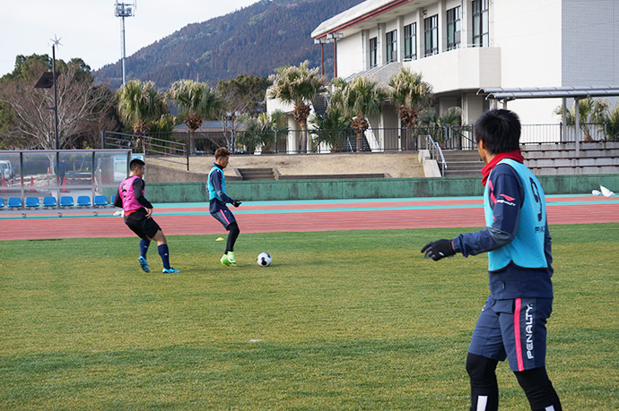日南キャンプトレーニング3