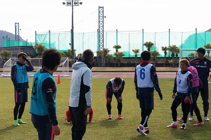 日南キャンプトレーニング5