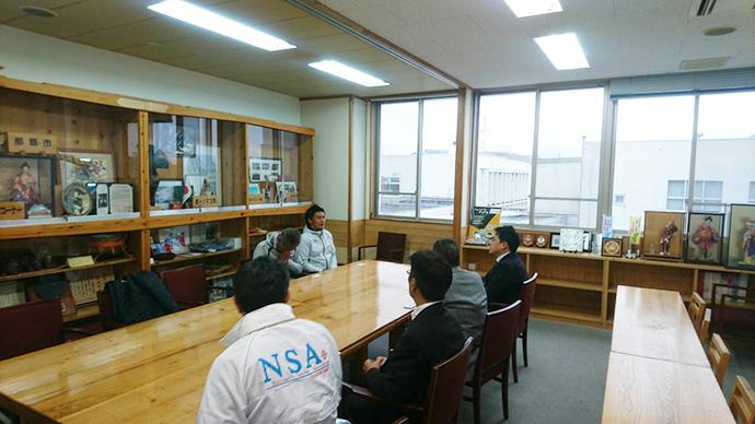 日南市長表敬訪問3
