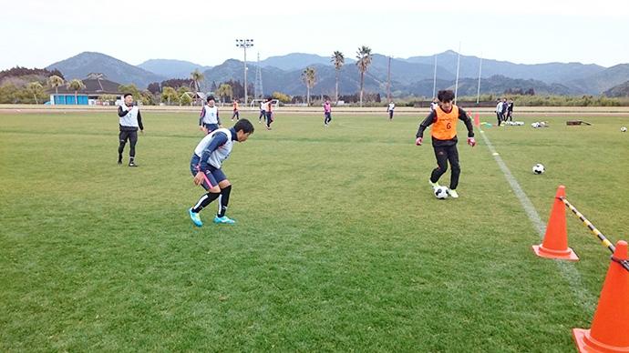 日南キャンプ最終日午前トレーニング2
