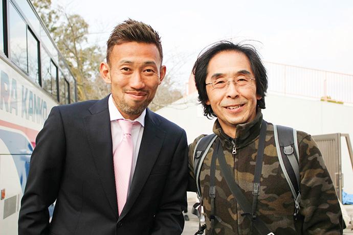 元ヴィッセル神戸、田中英雄選手とサポーターの皆さん3