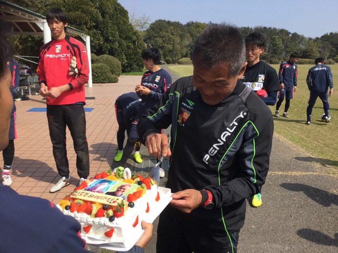 バースデーケーキ入刀01