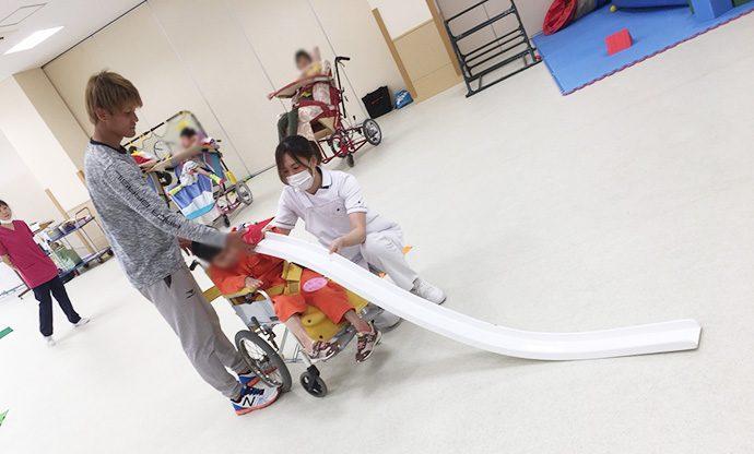 愛泉会日南病院ふれあいスポーツボランティア活動1