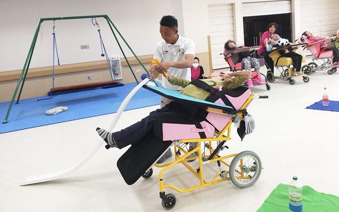愛泉会日南病院ふれあいスポーツボランティア活動2