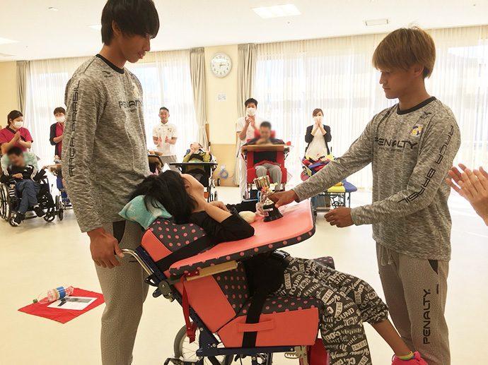 愛泉会日南病院ふれあいスポーツボランティア活動3