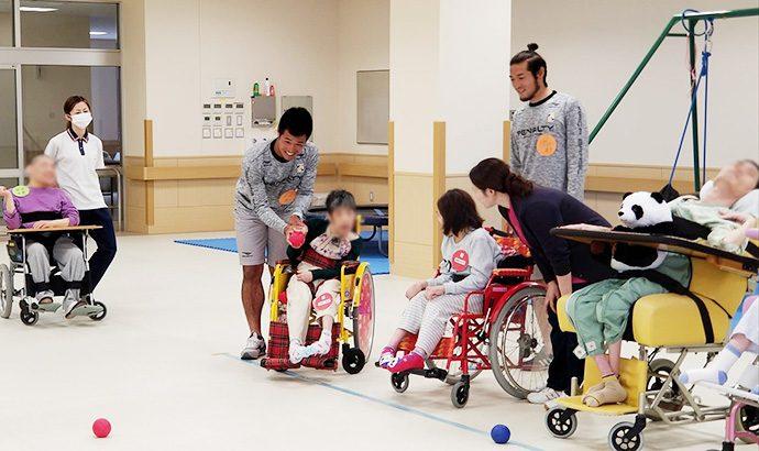 愛泉会日南病院ふれあいスポーツボランティア活動4
