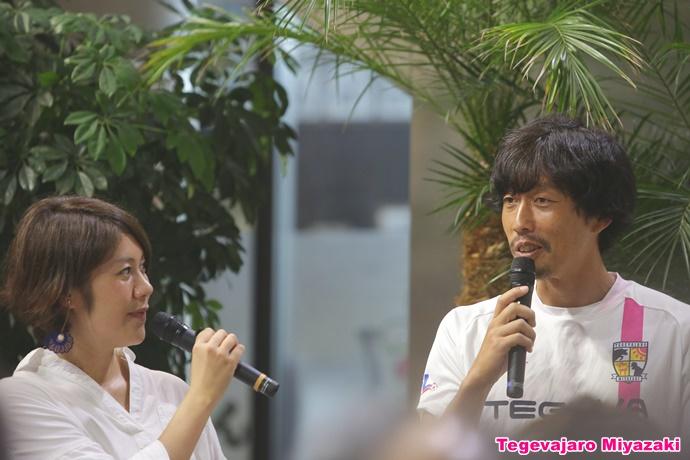 樋口千穂さんと米田選手