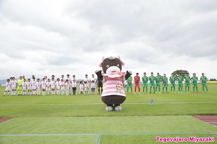 小林市観光キャラクター「こすモーちゃん」登場2
