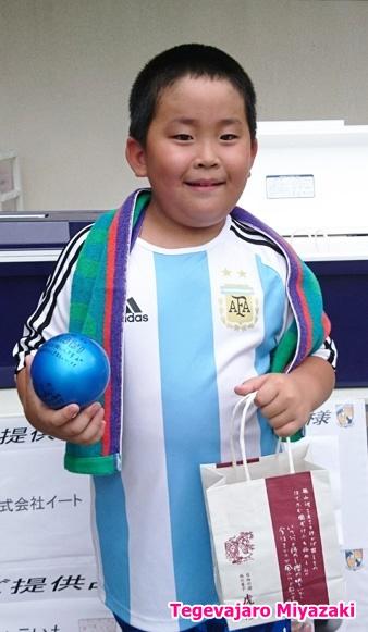 JFL2ndステージ 第6節カラーボールプレゼント当選者