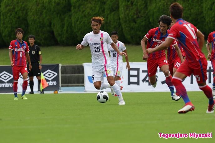 試合中:安東選手