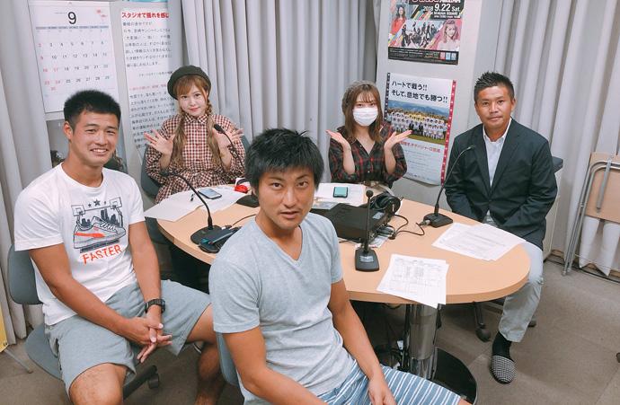 9/13(木)ゲスト:羽田選手・井原選手