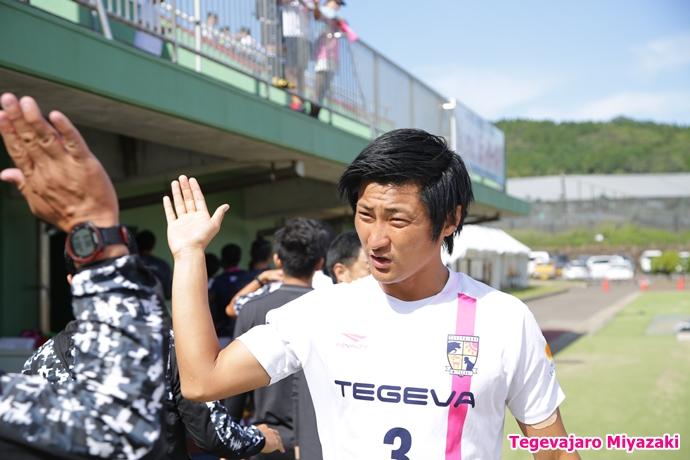 入場前:井原選手