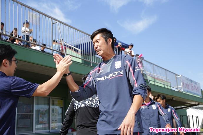 入場前:村尾選手