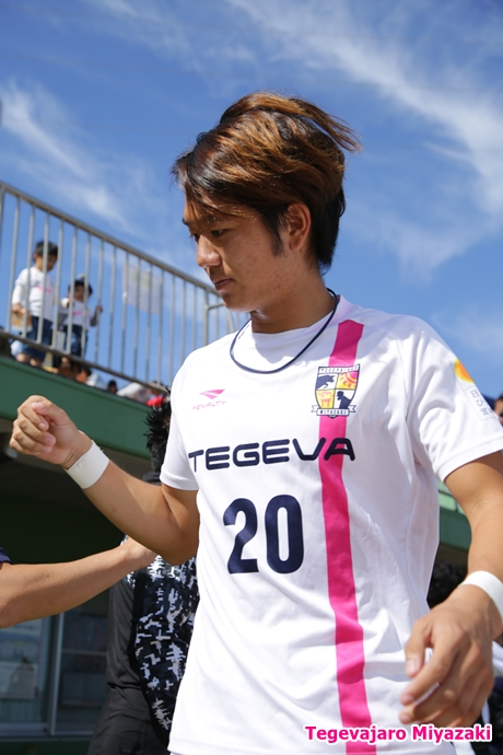 入場前:澤野選手