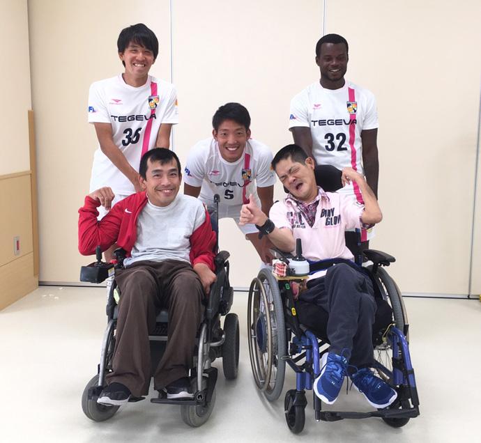10/22日南病院ふれあいスポーツボランティア