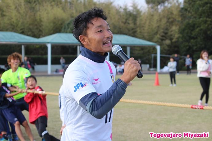 テゲバ運動会:第一種目・綱引き(樽谷選手)