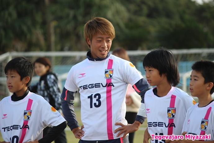 テゲバ運動会:第二種目・ミニサッカーゲーム(三島選手)