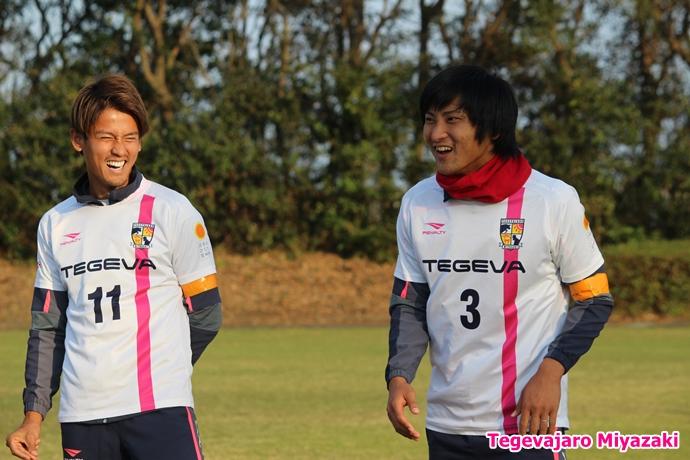 テゲバ運動会:第二種目・ミニサッカーゲーム(藤岡選手・井原選手)
