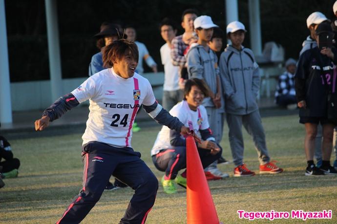 テゲバ運動会:第三種目・台風の目(米澤選手)