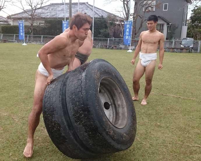 タイヤトレーニング