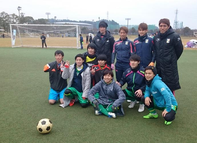 トップチーム:記念撮影