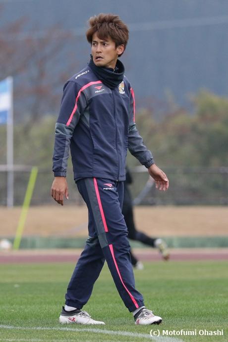 試合前:藤岡選手