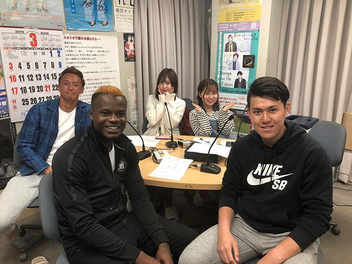 ゲスト:石井選手・サミュエル選手・赤塚選手