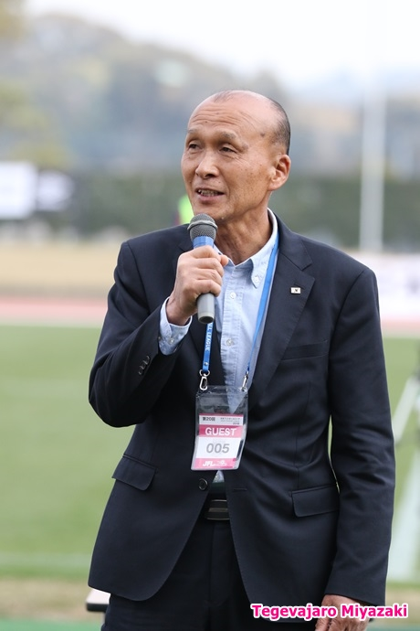 一般社団法人宮崎県サッカー協会会長・橋田和実様