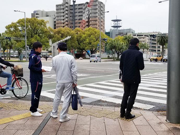 JR宮崎駅前 西口周辺