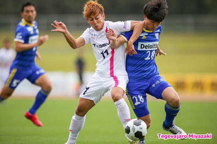 試合中:藤岡浩介選手