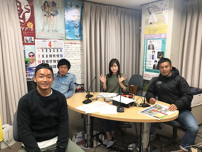 4/11:甲斐杏奈さん、柳田GM、宮田直樹選手、樽谷誠司選手