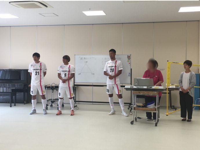 宮田選手、米澤選手、橋口選手