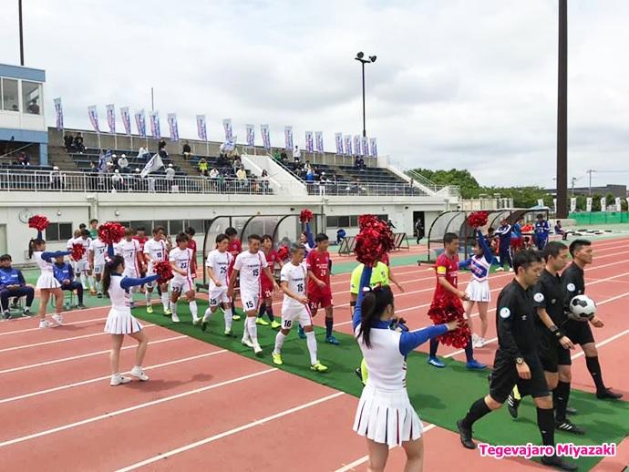 6/9:vs流経大ドラゴンズ龍ケ崎 選手入場